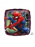 Mini palloncino alluminio quadrato Spiderman™