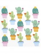 20 tovaglioli di carta piccoli cactus