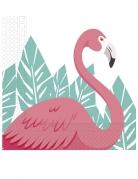 20 tovaglioli di carta flamingo