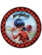 8 piatti Ladybug™ in cartone 23 cm
