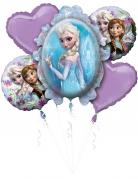 Bouquet 5 palloncini in alluminio Frozen™