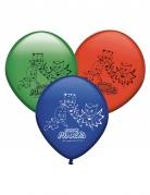 8 palloncini in lattice colorati Super Pigiamini™
