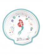 4 piatti in forma di conchiglia La Sirenetta™