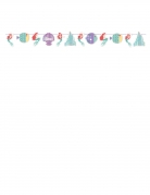 Ghirlanda in cartone premium La Sirenetta™