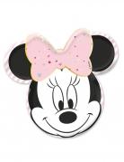 4 piatti in cartone premium viso Minnie™