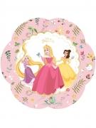 4 piatti fiore Principesse Disney™ 26 cm