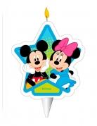 Candelina di compleanno Topolino e Minnie™