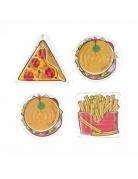 4 mini giochi labirinto a tema fast food