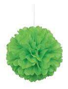 Pon pon da appendere color verde limone 40 cm
