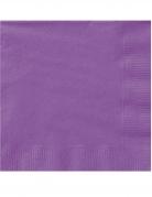 20 tovaglioli di carta viola chiaro