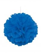 Pon pon da appendere color blu scuro 40 cm