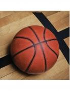 18 tovagliolini di carta pallone da basket