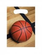 8 sacchetti regalo pallone da basket