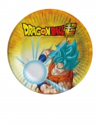 8 piattini in cartone Dragon Ball Super™ 18 cm