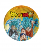 8 piatti in cartone Dragon Ball Super™ 23 cm