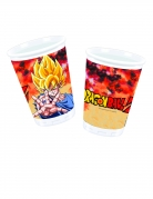 8 bicchieri in cartone Dragon Ball Z™