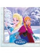 20 tovaglioli di carta inverno Frozen™