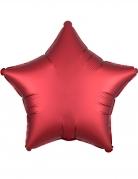 Palloncino alluminio stella rossa