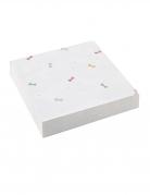 20 mini tovaglioli di carta piccola ballerina