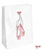 4 sacchetti regalo piccola ballerina con adesivi