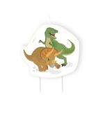 Candelina di compleanno grandi dinosauri