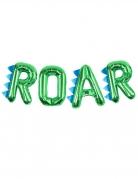 Palloncini alluminio lettere Roar verde