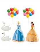 Decorazioni per torta in plastica Principesse Disney™