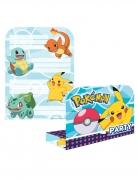 8 inviti con buste Pokemon™