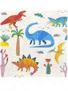 20 tovaglioli di carta piccoli dinosauri