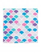16 tovaglioli di carta sirena colorati