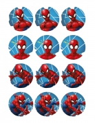 12 decorazioni per biscotti Spiderman™