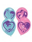 6 palloncini in lattice Nella principessa coraggiosa™