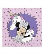 20 tovaglioli in carta Minnie unicorn™