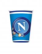 8 bicchieri in cartone Napoli™