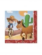 20 tovaglioli di carta cowboy