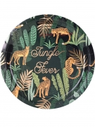 8 piatti in cartone Jungle Fever 23 cm