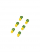 6 ananas in resina adesive