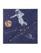 16 tovaglioli di carta astronauta