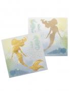 12 tovaglioli di carta sirena laguna