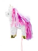 Pignatta unicorno con criniera rosa