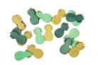 Coriandoli da tavola ananas dorate