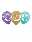 6 palloncini in lattice sirena da sogno