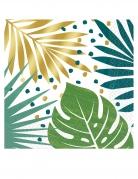 16 tovaglioli tropicale chic in carta 33 cm