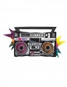 Palloncino alluminio radio anni '80