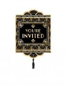 8 inviti per festa anni '20 con buste