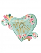 Palloncino alluminio cuore from Miss to Mrs