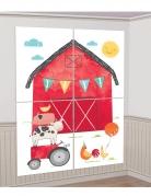 Kit photobooth e decorazione per parete fattoria