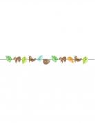 Ghirlanda di carta piccolo bradipo