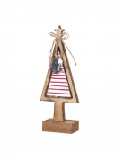 Mini alberello in legno luminoso