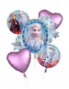 Bouquet 5 palloncini in alluminio Frozen 2™